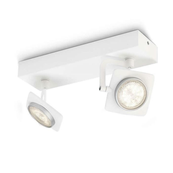 Philips Spot Orientable Double Millennium LED Blanc 531923116