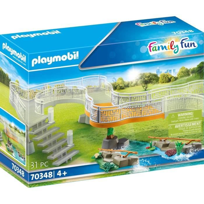 Playmobil 70348 family fun extension du zoo