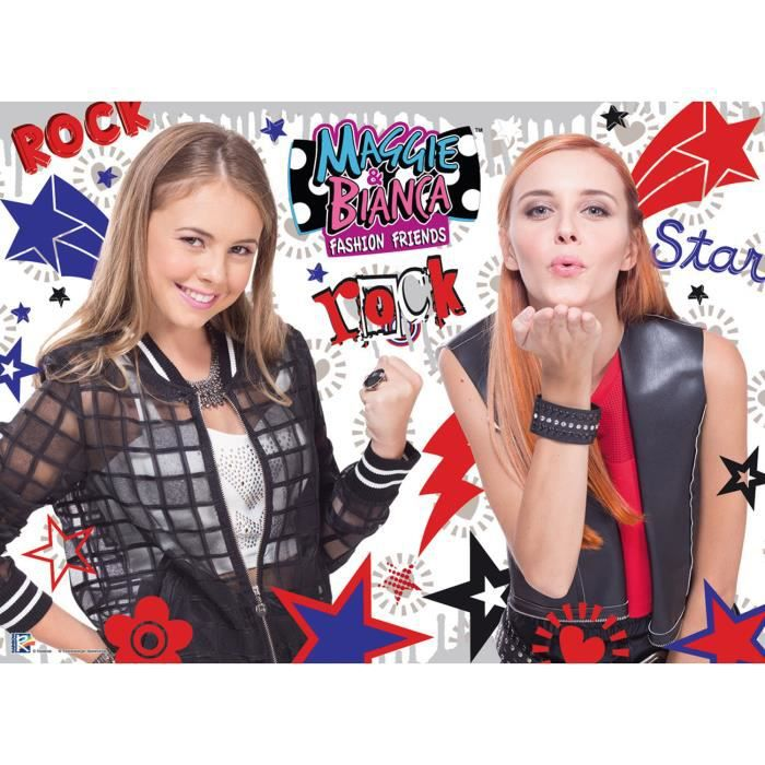 MAGGIE & BIANCA Puzzle Girls Rock 150 pcs