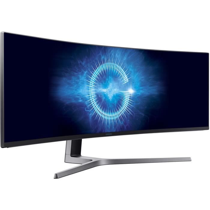 SAMSUNG C49HG90 - Ecran incurvé 49 pouces DFHD - Dalle VA - 1ms - 144Hz - HDMI/Display port/USB - FreeSync