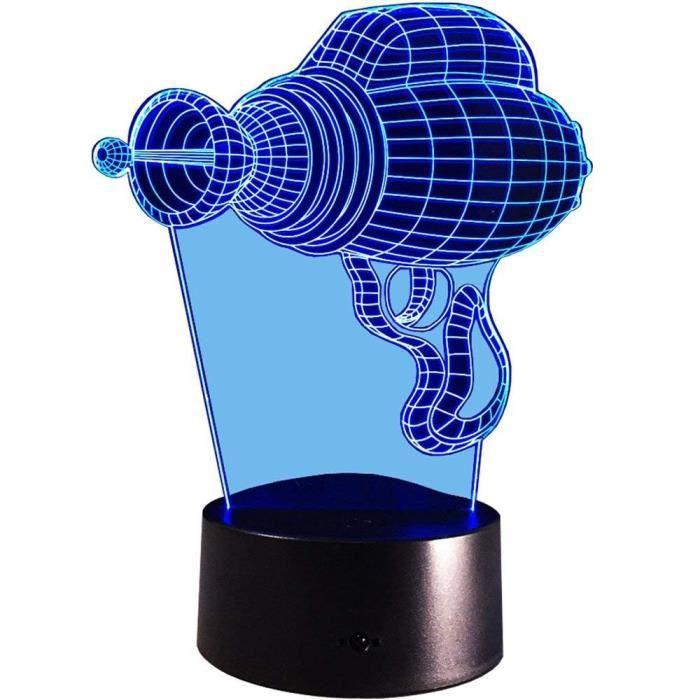 Illusion 3D Perceuse Electrique LED Lampe Art Déco Lampe Lumières LED Décoration Maison Enfants Meilleur Cadeau Lumière LF729151