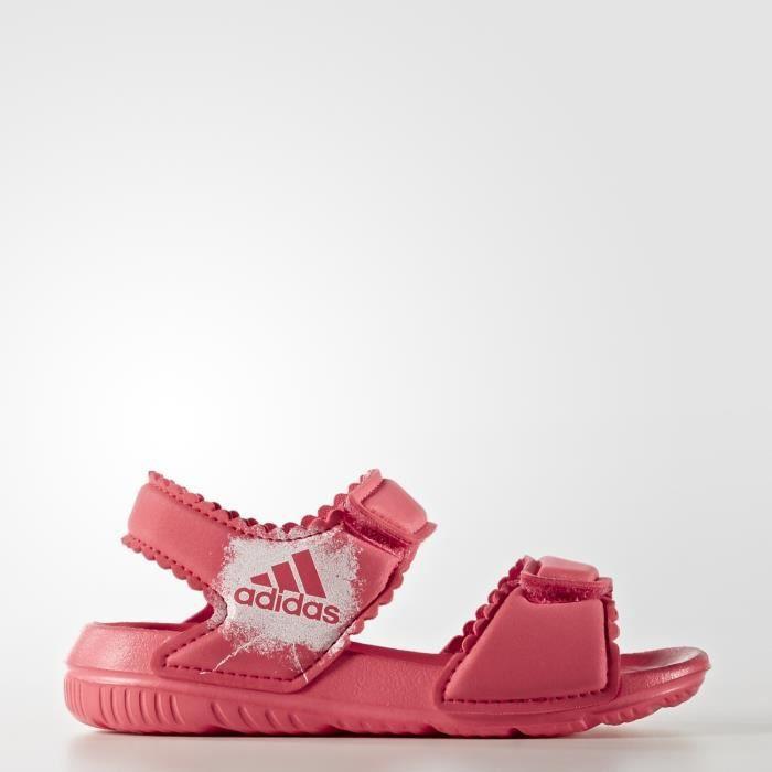 BALLON DE WATER-POLO Sandales adidas AltaSwim - rose saumon/blanc/blanc