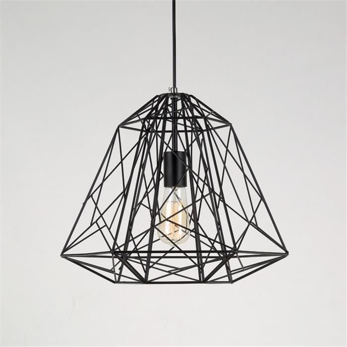 lustre design contemporain m tal retro industriel forme