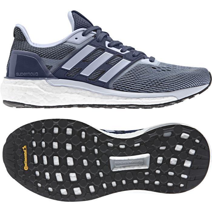 chaussure running adidas bleu