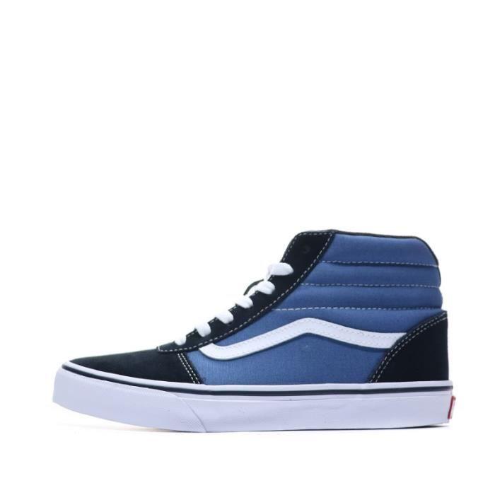 vans basket bleu