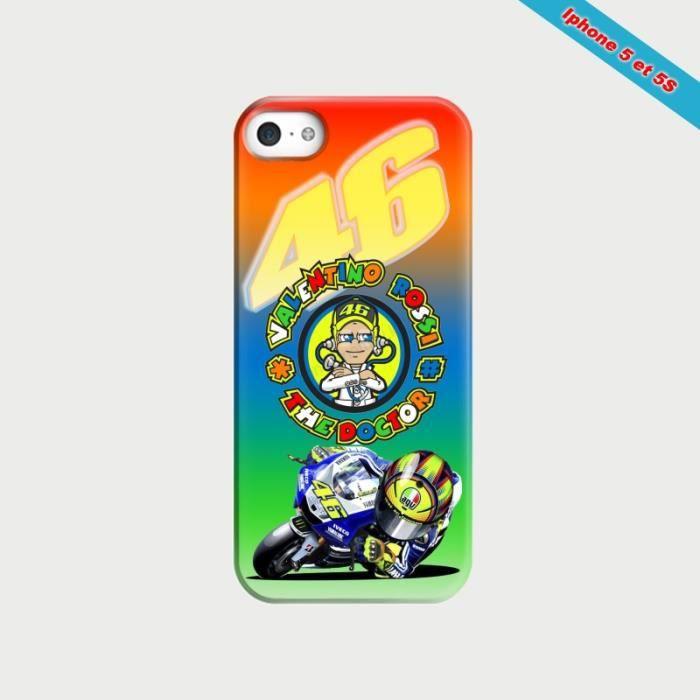 Coque iphone 5/5S Fan de Valentino Rossi VR46 1 - Achat coque ...