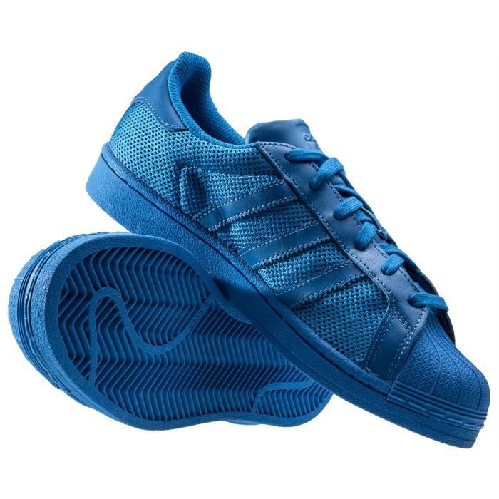 4 UK Bleu adidas Baskets Mixte Superstar 6wFfxnqSZ