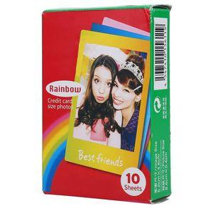 PELLICULE PHOTO ROMANTIC - Film Fujifilm Instax Rainbow Edge 10 Fe