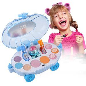 MARCHANDE Ensemble de maquillage pour enfants avec kit de ma