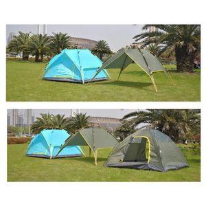 TENTE DE CAMPING Tente De Camping Familiale Pliante 3-4 personnes V