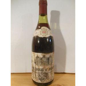 VIN ROUGE saint-nicolas de bourgueil xxx rouge 1982 - loire