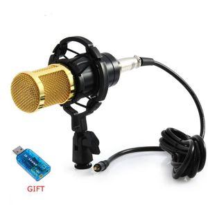HAUT-PARLEUR - MICRO Micro sain de microphone à condensateur de microph