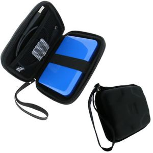 Multifonctions etui Sac Housse Pochette Case rigide pour disque durs externes portables 2,5 pouces anti-choc leau SODIAL Noir R
