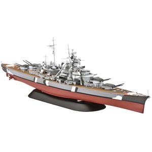 MAQUETTE DE BATEAU Navire de guerre Bismarck