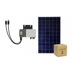 ONDULEUR Pack Panneaux Solaire Photovoltaïque Polycristalli