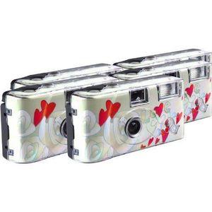 APPAREIL PHOTO JETABLE TopShot Lot de 5 appareils photo jetables 27 poses