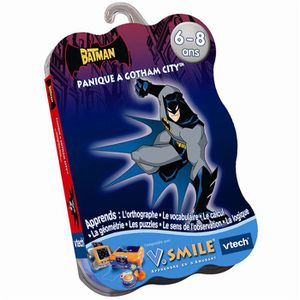 JEU CONSOLE EDUCATIVE Jeu VSmile Batman Vtech