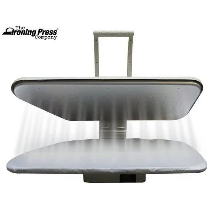 Presse à Repasser à Vapeur - Taille Double (80cm x 31cm, 1.600watt) pour un Repassage Rapide + de Nombreux Accessoires!
