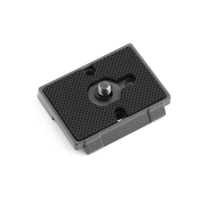 Trépied pour appareil photo 1-1 trou à vis avec fixation rapide QR plaque de montage pour Manfrotto 200PL-14