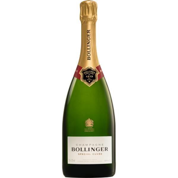X6 Champagne Bollinger - Spécial Cuvée - Bouteille (0,75cl)