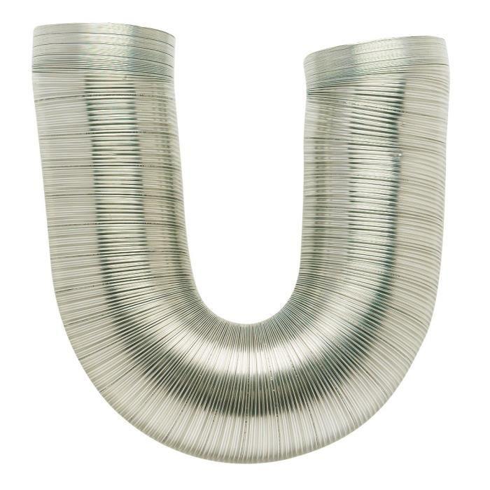 AUTOGYRE - Gaine flexible alu Ø100 mm x 3 m