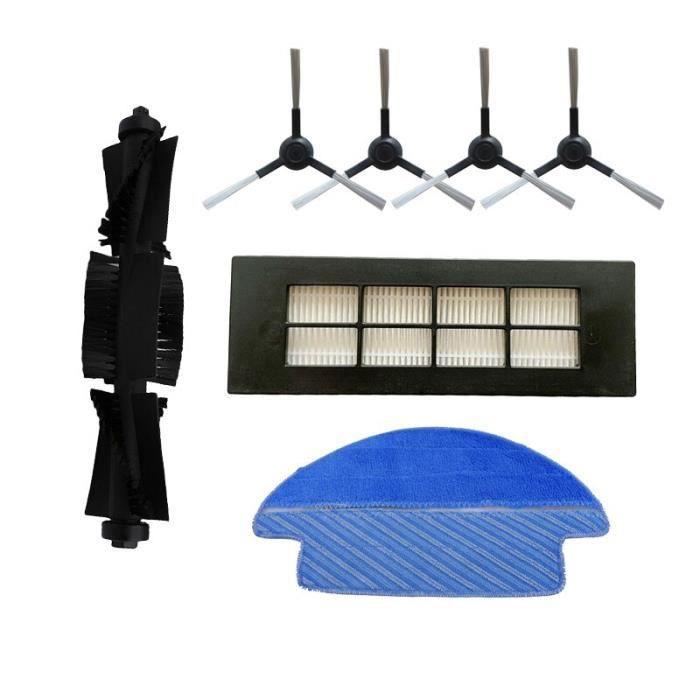Accessoires pour aspirateur Proscenic LDS M6 R2, brosse latérale avec filtre HEPA et balai latéral~kit-7 GF2421