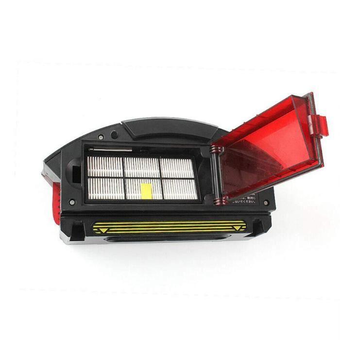 Boîte de collecte de poussière filtre collecteur de filtre pour iRobot Roomba 800 900 série 805 860 870 880 885 890 robot aspirateur