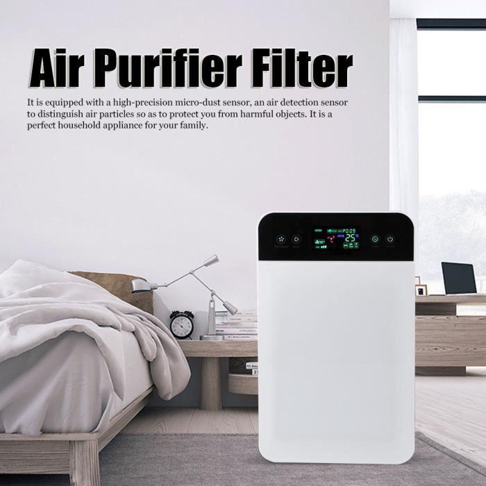 Purificateur d'Air, Maison Chambre, Éliminateur de Poussière, Pollen et Mauvaises Odeurs(Prise EU 220V ) -PAI