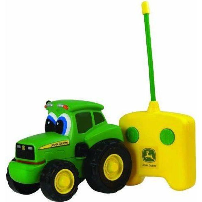 John Deere - 42946 - Jouet de Premier Age - Johnny le Tracteur Radiocommandé