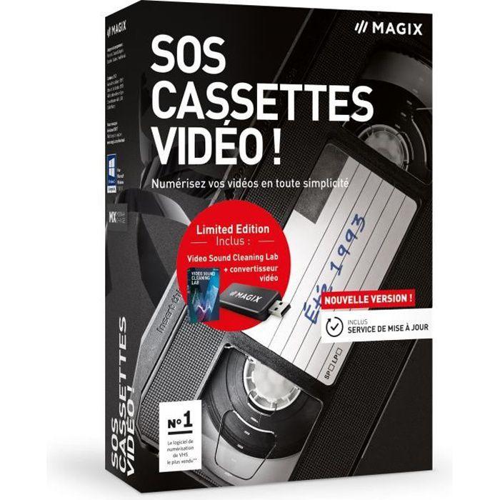 Magix Logiciel Sos Cassettes vidéo ! Box Fr