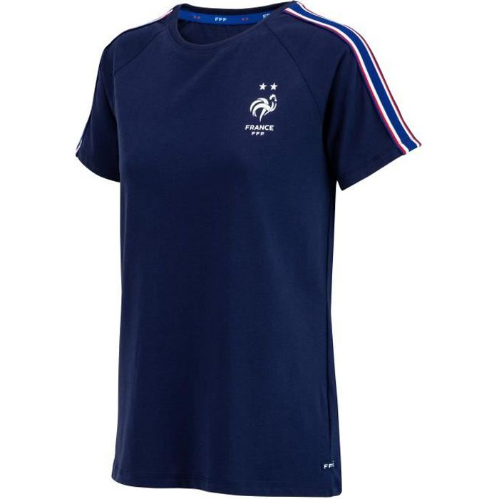 T-shirt FFF - Collection officielle Equipe de France de Football - Taille Femme S