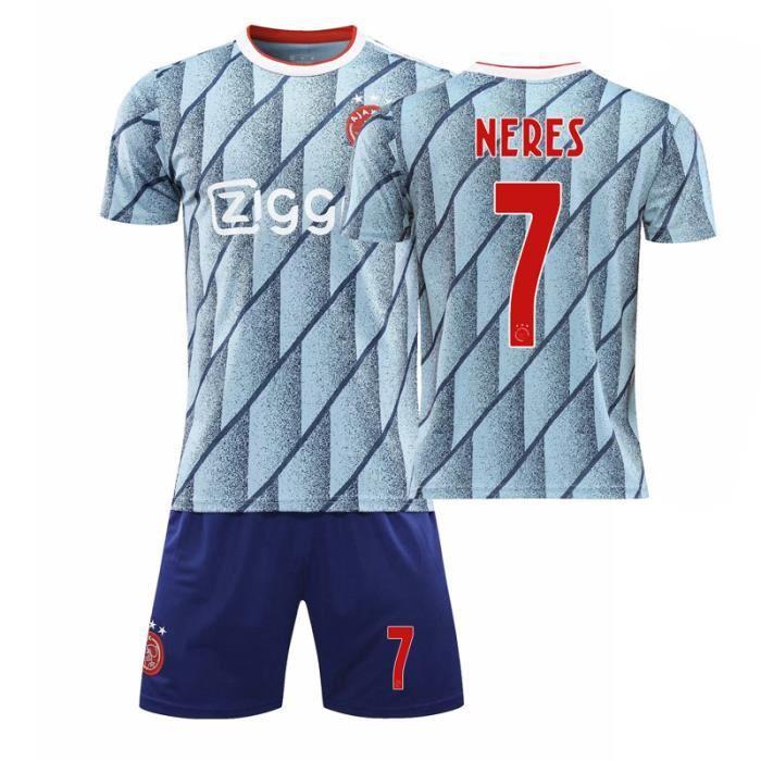 72620-21 Ajax Jerseys Custom Football Jerseys Sports Kits Hommes Enfants Uniformes d'équipe de match imprimés Home Away