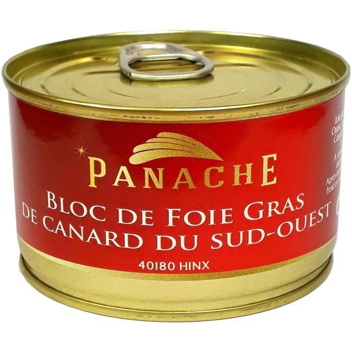 PANACHE DES LANDES Bloc de foie gras - 150 g