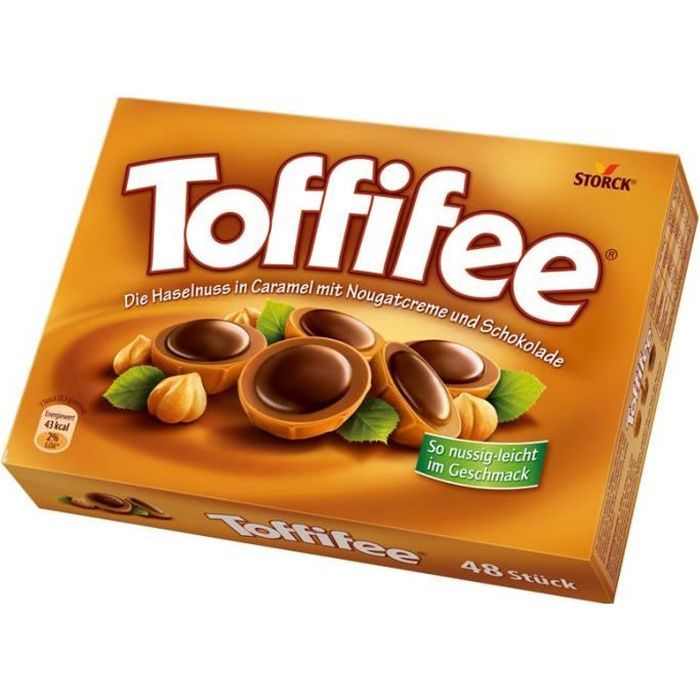 Storck Toffifee, chocolat, paquet de 400g