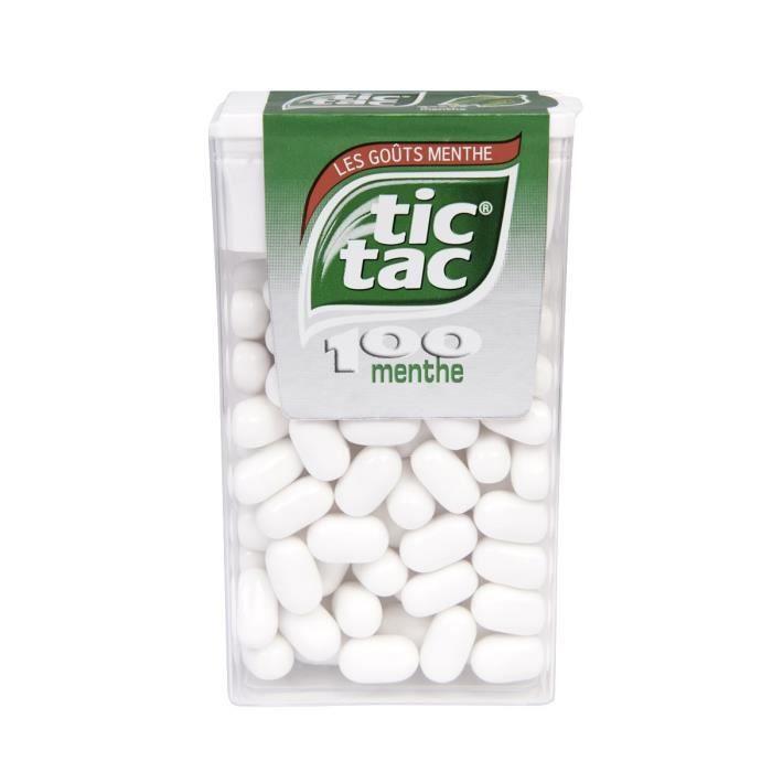 Tic tac menthe 49 g Tic Tac