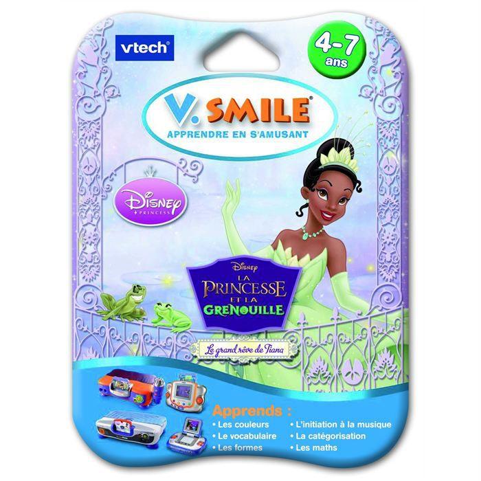 Jeu V.smile La Princesse et la grenouille