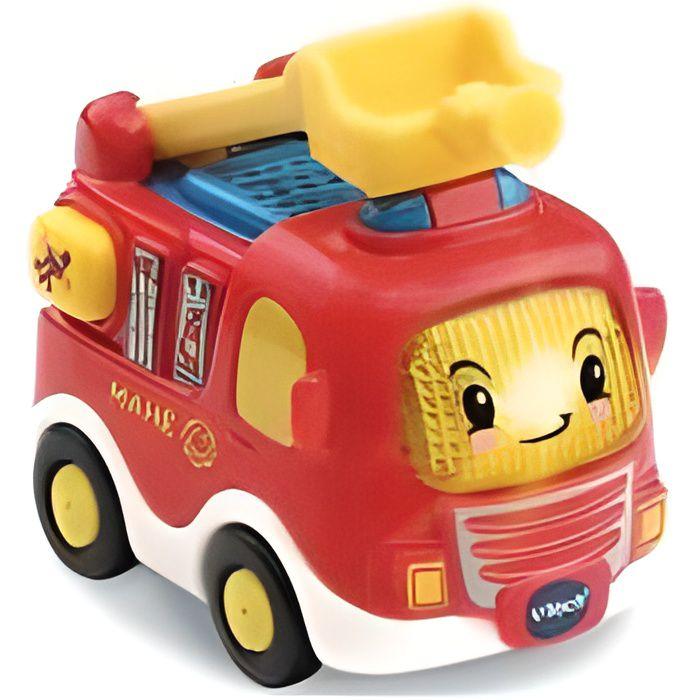 Tut Tut Bolides Vtech - Mahe camion de pompiers 1-5 ans - Vehicule son et lumiere