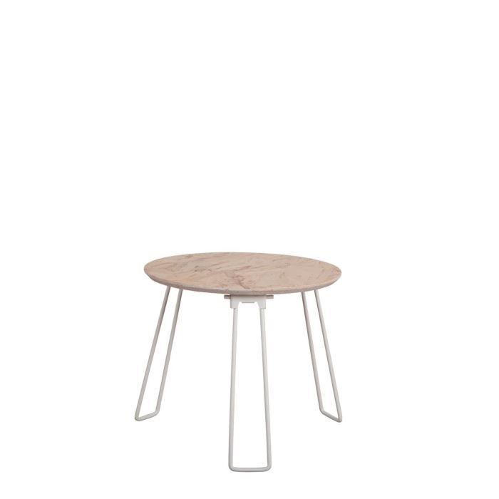 Table basse osb small couleur blanc achat vente table for Table exterieur osb