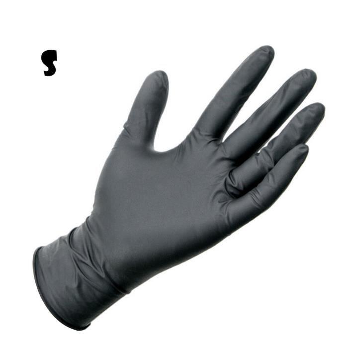 Gants en latex de caoutchouc pour travaux de s/écurit/é imperm/éables 55 cm r/ésistants aux acides et aux huiles nettoyage