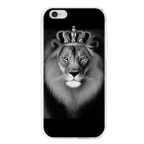coque iphone 6 silicone lion