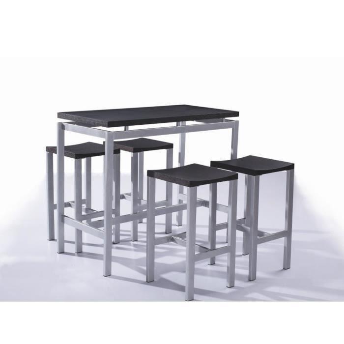 Ameublement et décoration Meubles vidaXL Jeu de 1 Table de ...