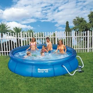 Piscine autoportante fast set 366 x 76 cm bestway achat for Achat piscine autoportante