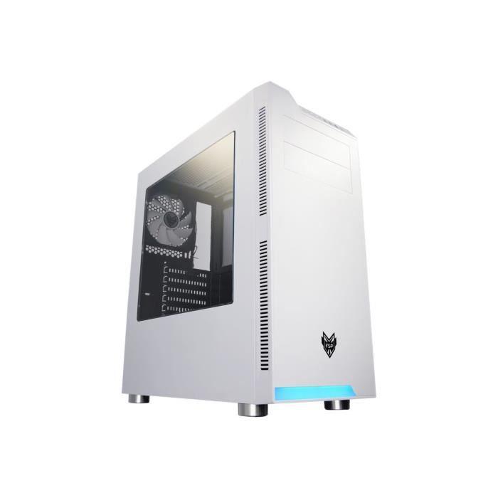 BOITIER PC  FSP CMT240 Tour midi ATX pas d'alimentation (ATX)