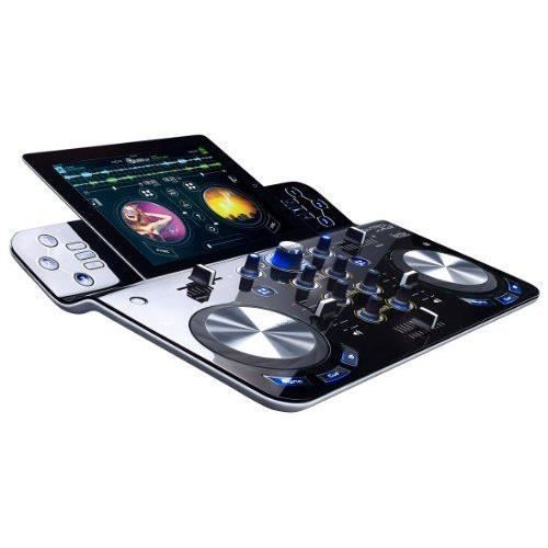 hercules djcontrol wave contr leur dj sans fil pour ipad. Black Bedroom Furniture Sets. Home Design Ideas