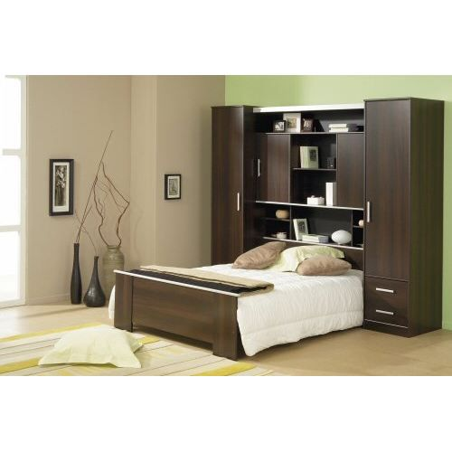 lit pont 140 x 190 cm mexicana achat vente lit complet. Black Bedroom Furniture Sets. Home Design Ideas