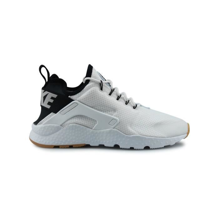 sports shoes e1ec1 7a740 BASKET Baskets Wmns Nike Air Huarache Run Ultra Blanc