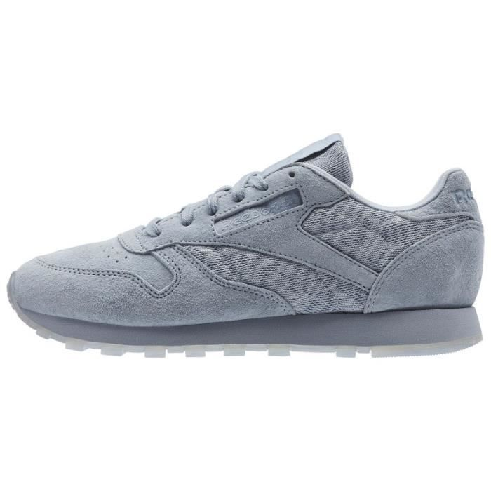 ef260666a58 Basket Reebok Classic Leather Lace - Ref. BS6522 Gris Gris - Achat ...