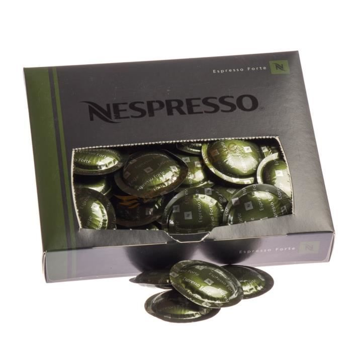 nespresso espresso leggero 50 capsules gamme professionnelle achat vente caf chicor e. Black Bedroom Furniture Sets. Home Design Ideas