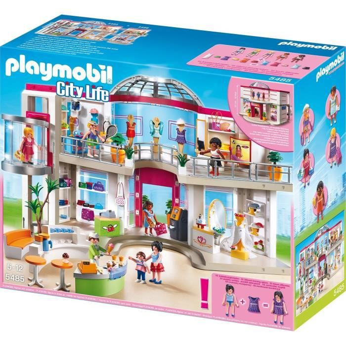 playmobil 5485 grand magasin am nag achat vente. Black Bedroom Furniture Sets. Home Design Ideas