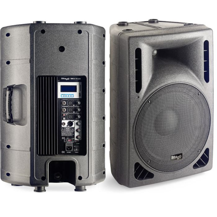 enceinte active 200w 2 voies wf15 tw compression